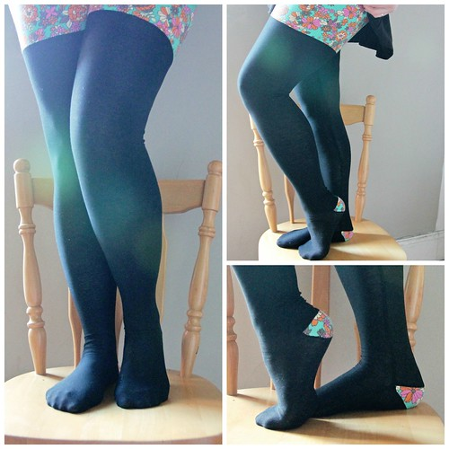 pieced tights