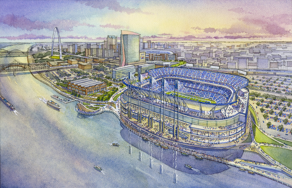 NFL stadium proposal - St. Louis, MO