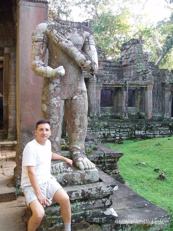 Ангор, Камбоджа, территория Пре Кана