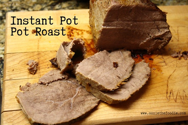 Pot Roast Sautéed and Cooked in Instant Pot