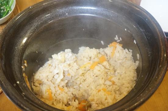 土釜おこげでお米を炊く方法
