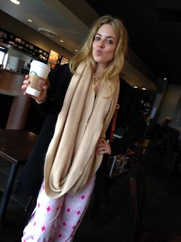 Starbucks in PJs