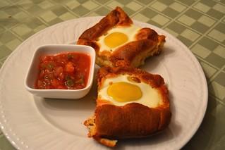 Huevos Rancheros Crescent Bake