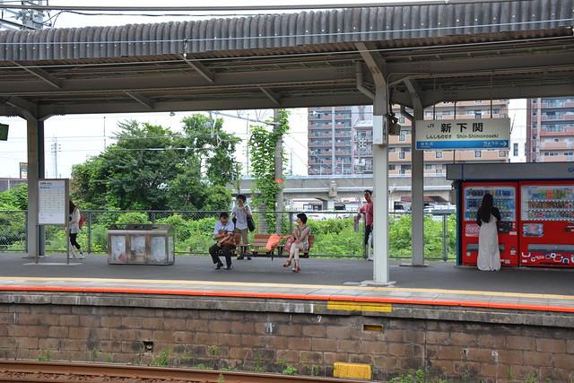 新下関駅ー在来線ホーム