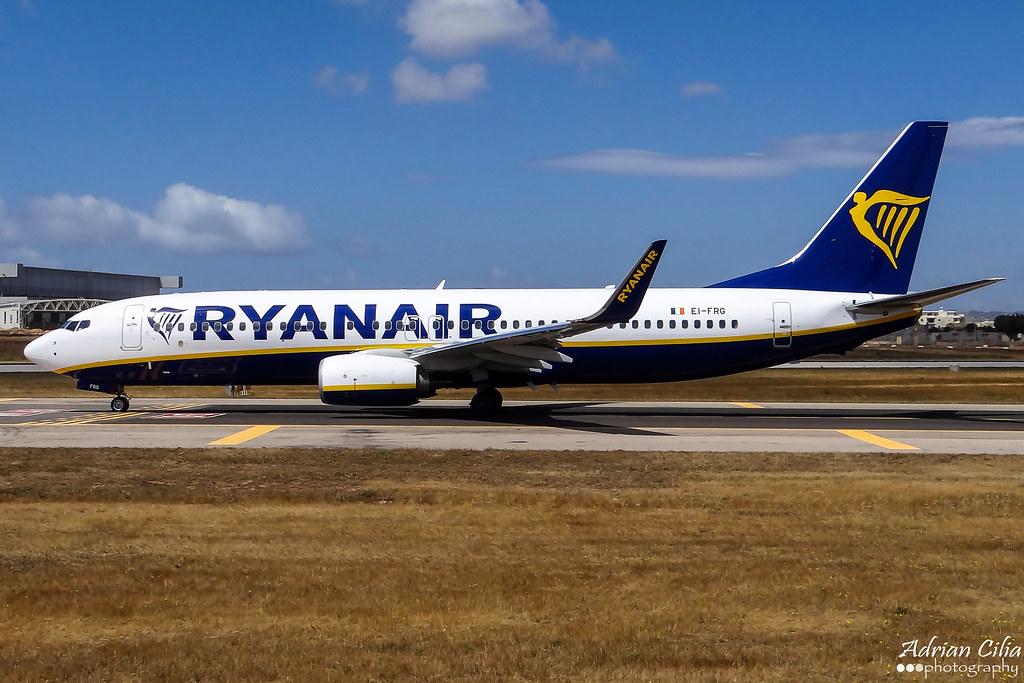 EI-FRG - B738 - Ryanair
