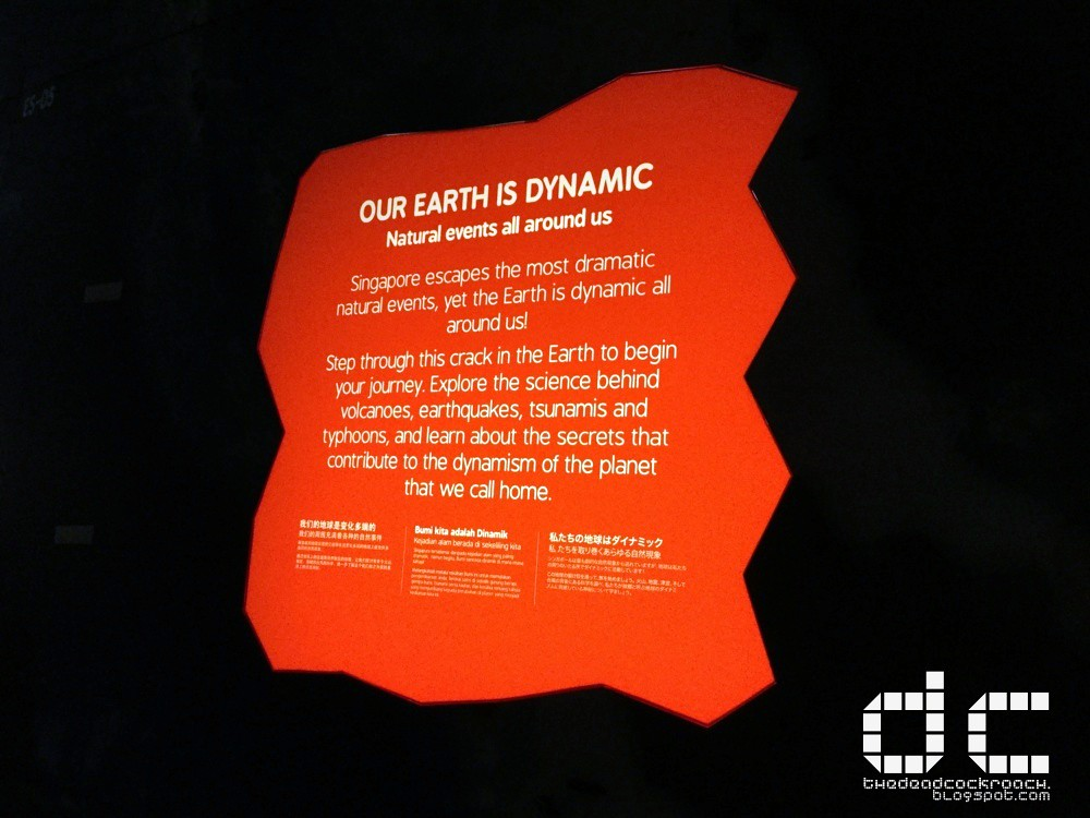 earth our untamed planet, science, science centre, science centre singapore, singapore, singapore science centre, where to go in singapore