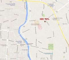 Map for SEE TEFL - May, 2016
