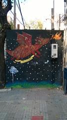 2015 05_Montevideo Graffiti en una obra en Acevedo Díaz