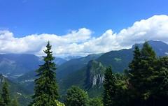 La Val di Scalve vista dal Passo della Presolana