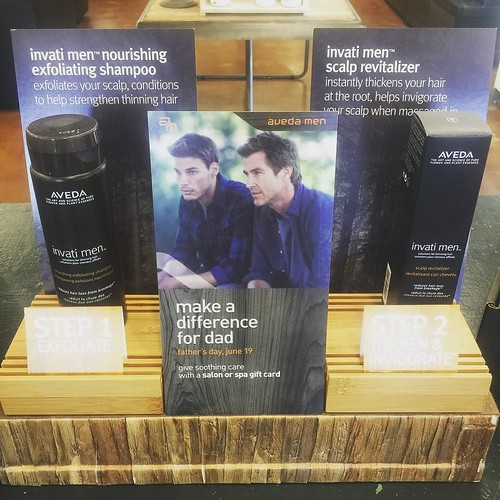 Calling all men!! Do you want thicker, stronger hair?? The Aveda Men's Invati system helps reduce hair loss, using 98% naturally derived plants, with 2 simple steps. For more information come to @ryanpatricksalon and check out our full Aveda product line.