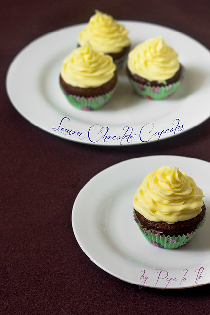 Lemon Chocolate Cupcakes (7)