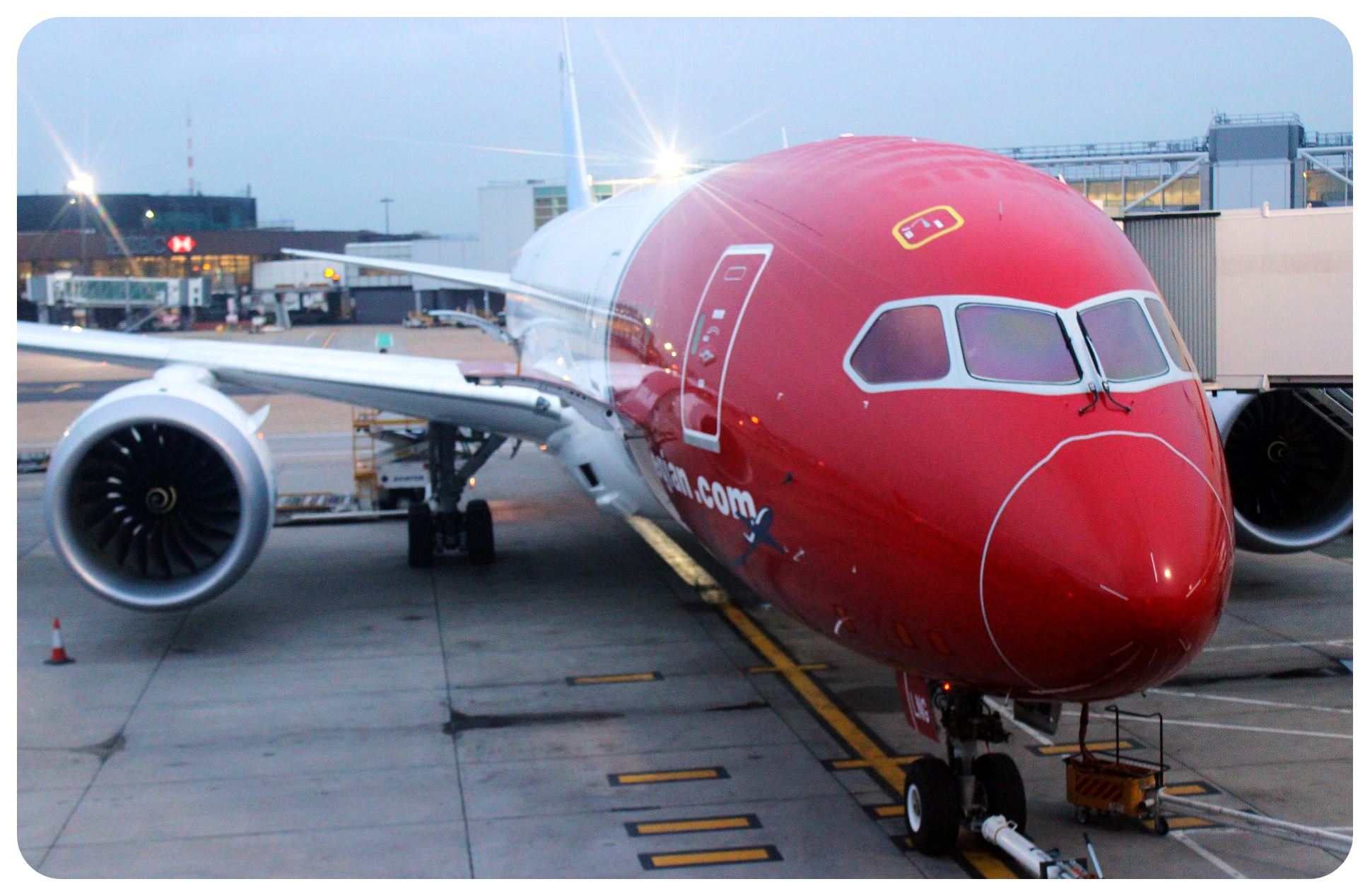 norwegian airlines dreamliner