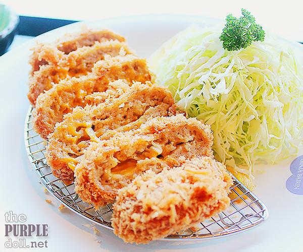 Ginza Bairin Menchi Katsu with Cheese
