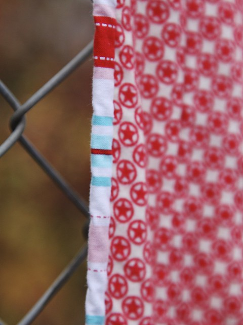 Christmas Swoon - binding detail
