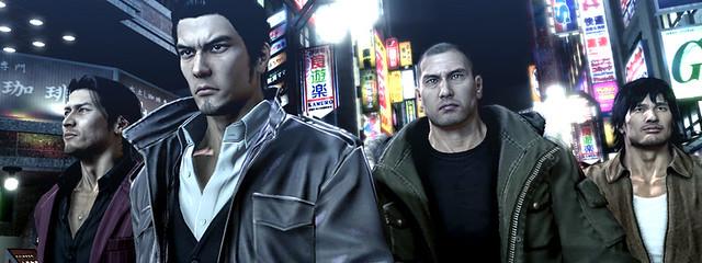 Yakuza 5 PSX