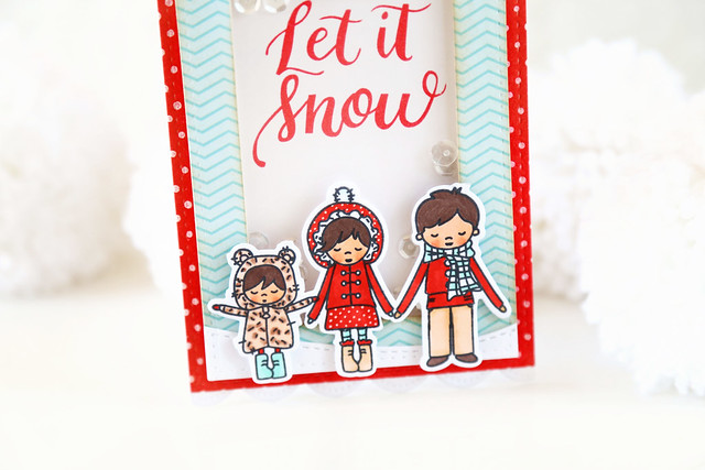 let it snow {mama elephant stamp highlights}
