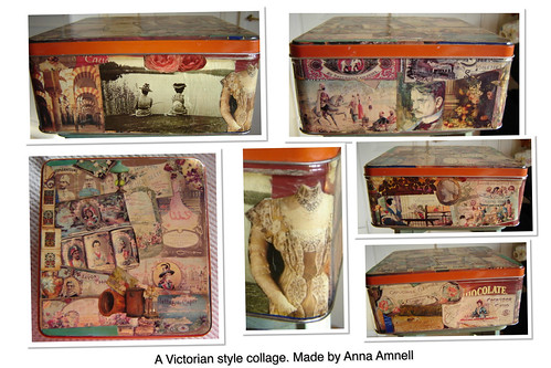 Biscuit box collage