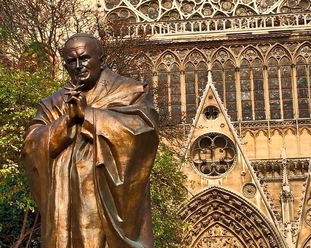 Juan Pablo II en Notre Dame