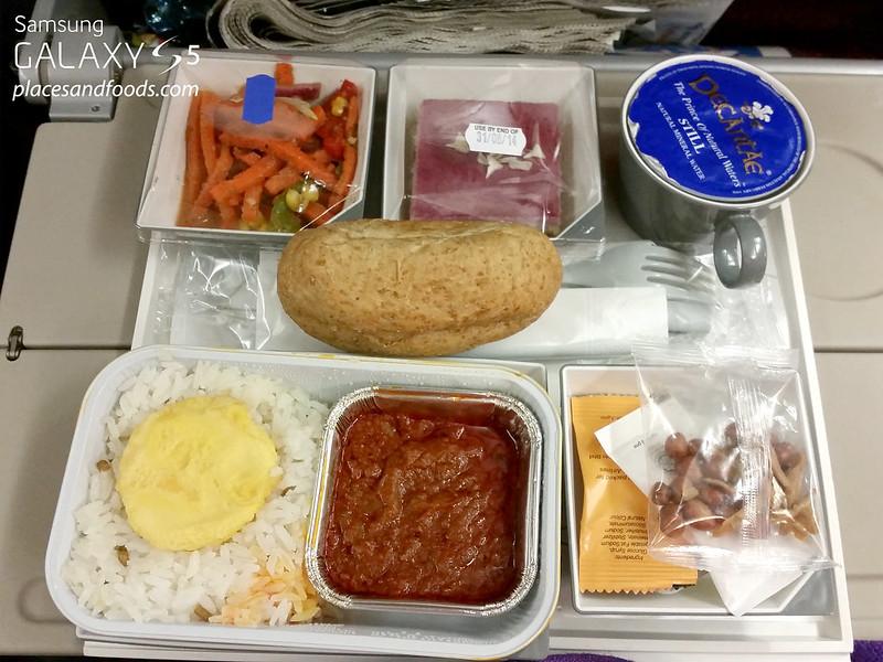 malaysia airlines nasi lemak