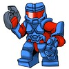 Back in BLUE!!! Powered Assault Armor and Helmet pieces are back in stock in BLUE!
