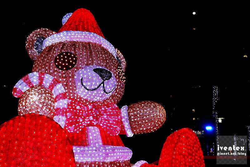 40刀口力2014新北市歡樂耶誕城新北市市民廣場Q萌熊樂園