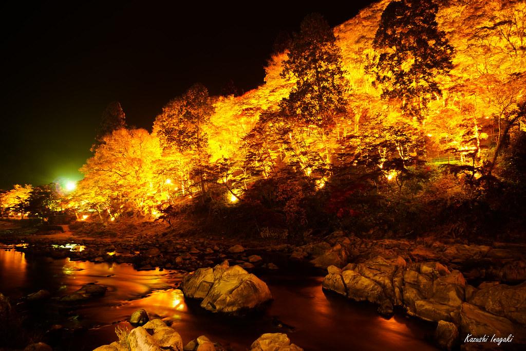 燃える香嵐渓
