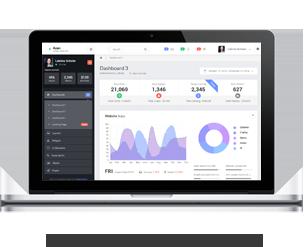 Azan - Bootstrap Responsive Admin Template