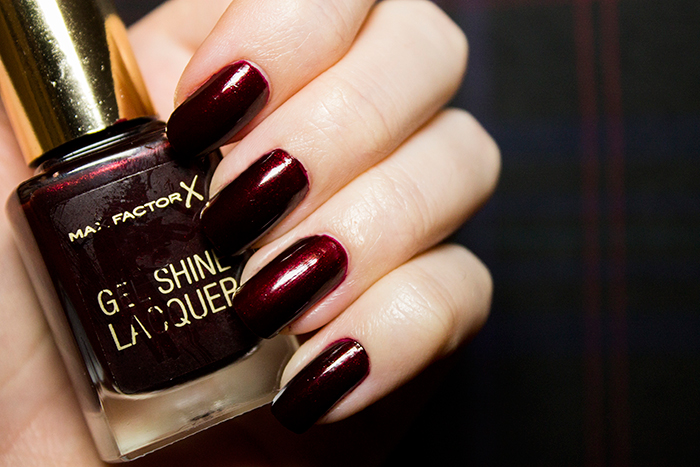 Max Factor Gel Shine Lacquer in Sheen Merlot