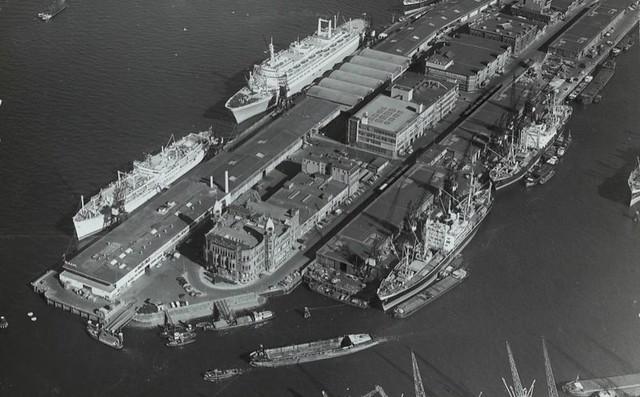 Wilhelminapier luchtfoto