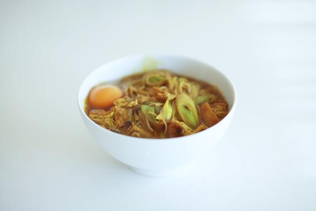 カレー煮込み蕎麦