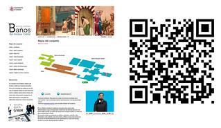 Baños árabes del Alcázar Califal de Córdoba. Visita virtual