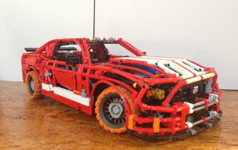 mods of sheepo 39 s mustang and caterham lego technic. Black Bedroom Furniture Sets. Home Design Ideas