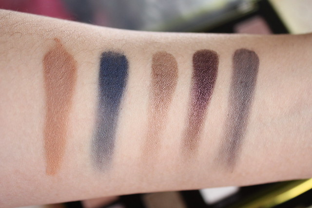 Urban Decay vice3 swatches