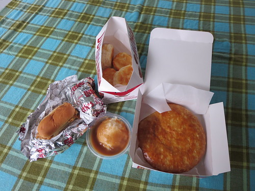 KFC dinner