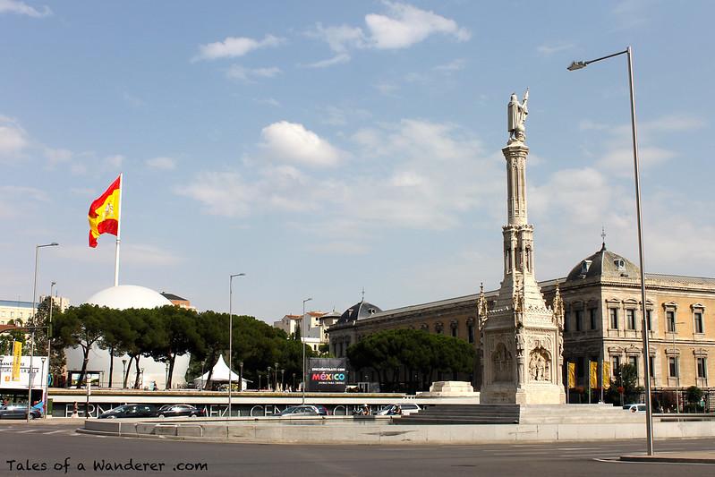 MADRID - Plaza de Colón