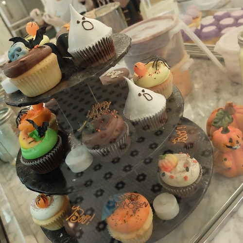 Halloween monster cakes
