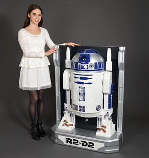 3D WALL FIGURE 1/1 星際大戰 R2-D2