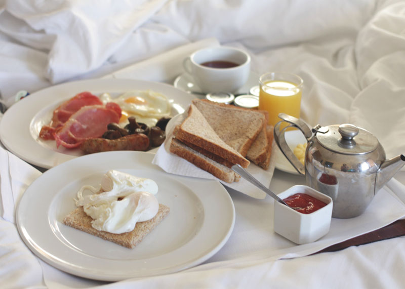 breakfast review, Ox Pasture hall hotel