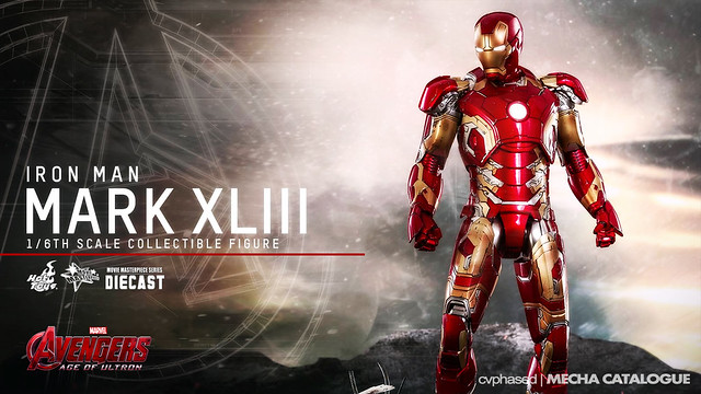 Hot Toys Movie Masterpiece 1/6 Iron Man Mark XLIII