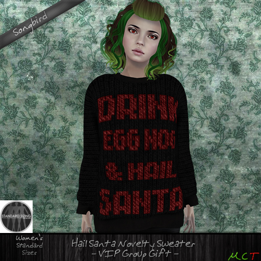 ~SongBird~ Hail Santa Sweater VIP GIFT!