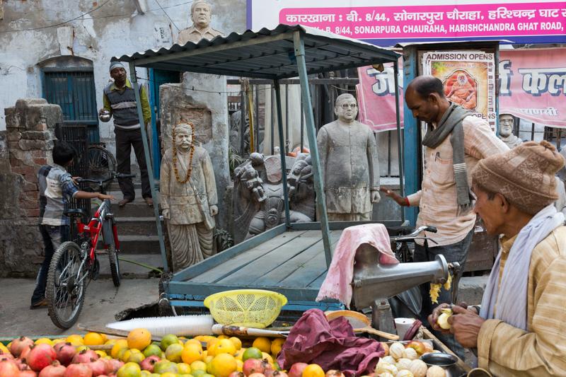 Heads, Varanasi