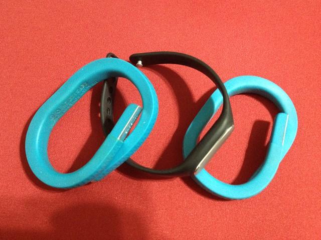 Jawbone UP 時尚智慧手環與小米手環