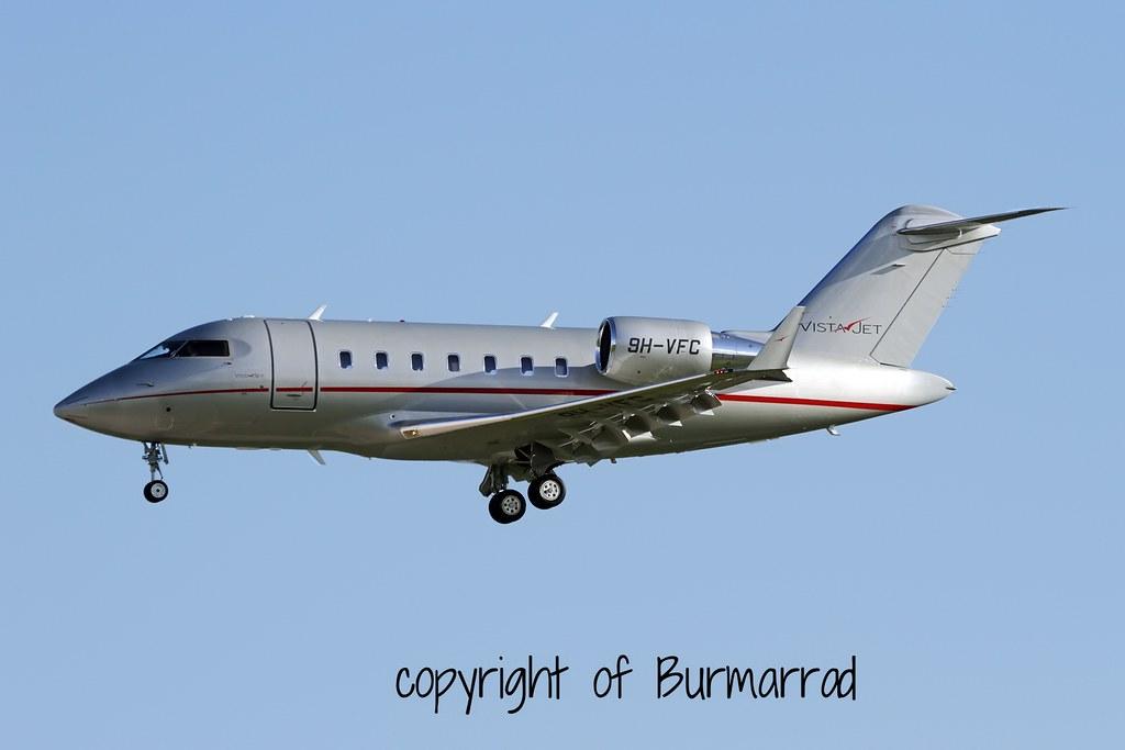 9H-VFC - CL60 - VistaJet
