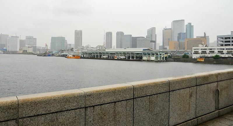 Tsukiji from bridge