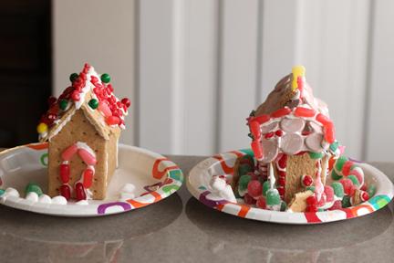 Graham Cracker Houses 1-2