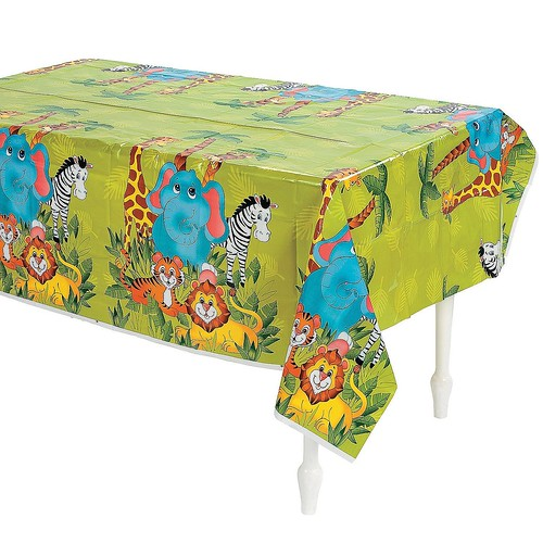 zoo tablecloth