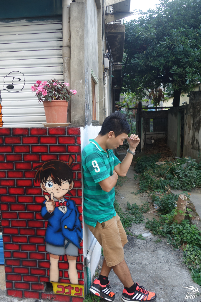 台中林森路動漫彩繪巷18