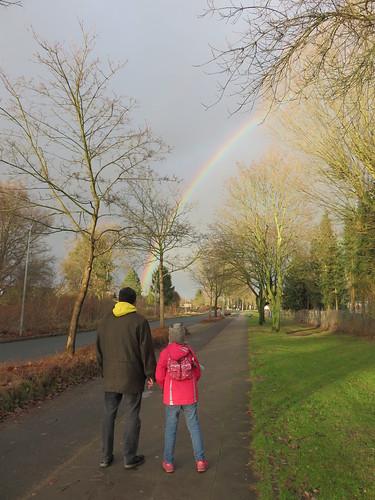 Weihnachts-Regenbogen