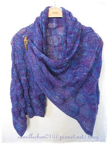 bobble shawl_2