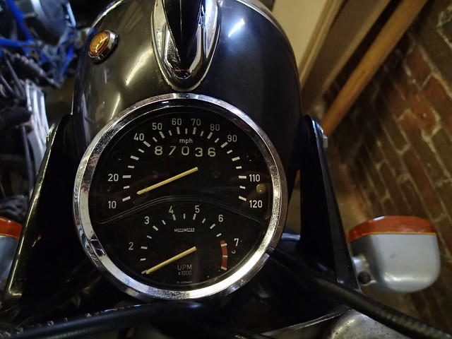 1971 BMW R75/5 mileage 1/1/15